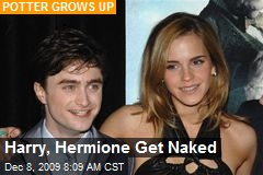 Harry, Hermione Get Naked
