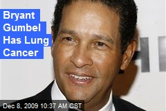 Bryant Gumbel Has Lung Cancer