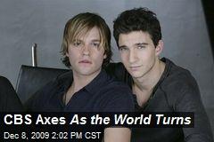 CBS Axes As the World Turns