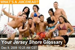 Your Jersey Shore Glossary