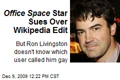 Office Space Star Sues Over Wikipedia Edit