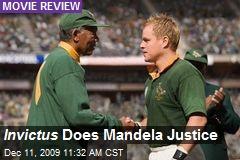 Invictus Does Mandela Justice