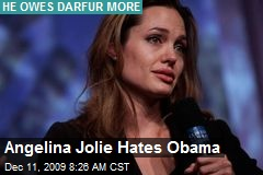 Angelina Jolie Hates Obama