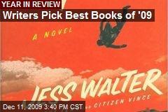 Writers Pick Best Books of '09