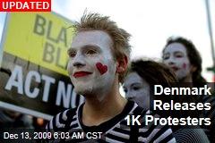 Denmark Releases 1K Protesters