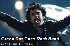 Green Day Goes Rock Band