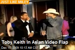 Toby Keith in Asian Video Flap