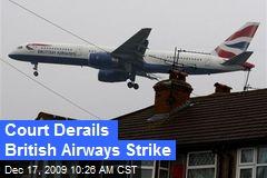 Court Derails British Airways Strike