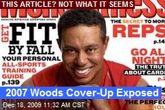 2007 Woods Cover-Up Exposed