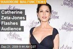 Catherine zeta jones boob slip