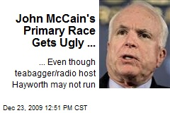John McCain's Primary Race Gets Ugly ...