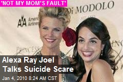Alexa Ray Joel Talks Suicide Scare