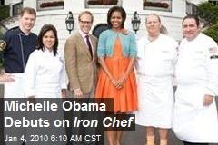Michelle Obama Debuts on Iron Chef