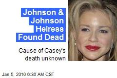 Johnson & Johnson Heiress Found Dead