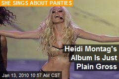 Heidi Montag's Album Is Just Plain Gross