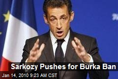 Sarkozy Pushes for Burka Ban