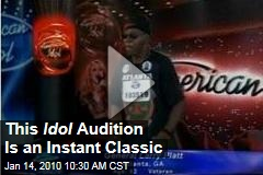 This Idol Audition Is an Instant Classic