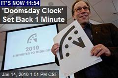 'Doomsday Clock' Set Back 1 Minute