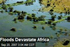 Floods Devastate Africa