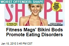 Fitness Mags' Bikini Bods Promote Eating Disorders