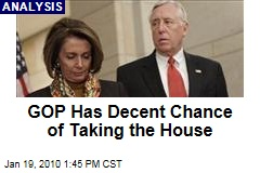 GOP Has Decent Chance of Taking the House