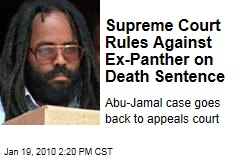 Supreme Court Rules Against Ex-Panther on Death Sentence