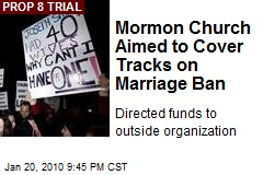 Mormon Church Aimed to Cover Tracks on Marriage Ban