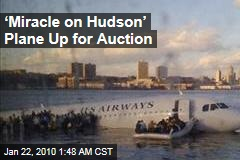 'Miracle on Hudson' Plane Up for Auction