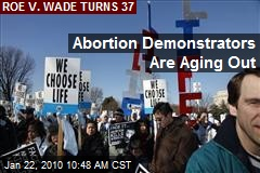 Abortion Demonstrators Are Aging Out