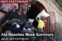 Aid Reaches More Survivors