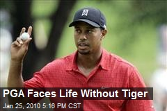 PGA Faces Life Without Tiger
