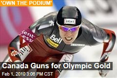 Canada Guns for Olympic Gold