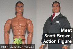 Meet Scott Brown, Action Figure