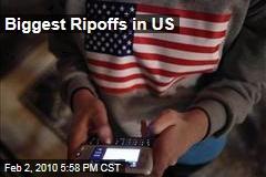 Biggest Ripoffs in US