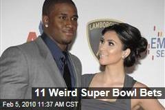 11 Weird Super Bowl Bets