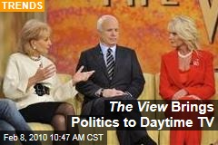 The View Brings Politics to Daytime TV