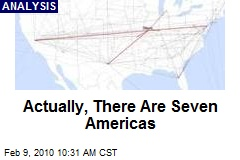 Actually, There Are Seven Americas