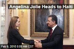 Angelina Jolie Heads to Haiti
