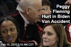 Peggy Fleming Hurt in Biden Van Accident