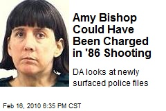 Amy Bishop Could Have Been Charged in '86 Shooting