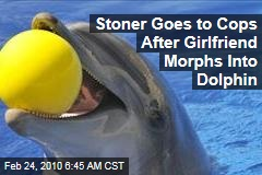 Stoner Goes to Cops After Girlfriend Morphs Into Dolphin