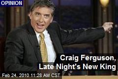 Craig Ferguson, Late Night's New King