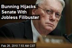 Bunning Hijacks Senate With Jobless Filibuster