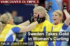 Sweden Takes Gold in Women's Curling