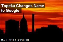 Topeka Changes Name to Google