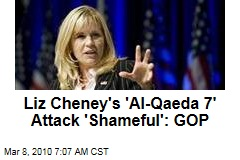 Liz Cheney's 'Al-Qaeda 7' Attack 'Shameful': GOP