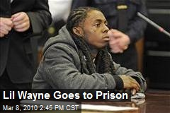 Lil Wayne Goes to Prison