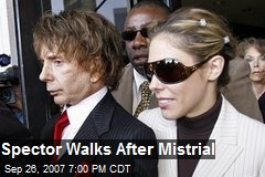 Spector Walks After Mistrial