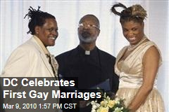 DC Celebrates First Gay Marriages