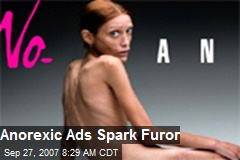 Anorexic Ads Spark Furor